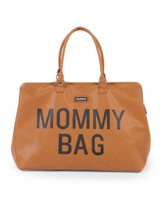 Torba podróżna Mommy Bag Brązowa, Childhome
