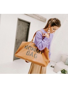 Torba podróżna Mommy Bag Brązowa, Childhome