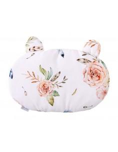 Poduszka bawełniana miś Vintage Flowers, Qbana Mama