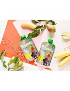 Owsianka BIO banan mango gruszka +4 m-ce, Mamuko