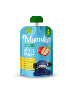 Puree owocowe BIO jabłko +4 m-ce, Mamuko