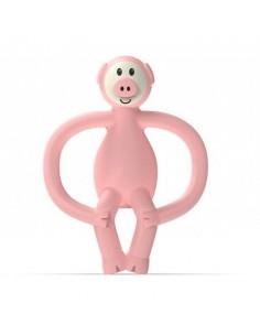 Gryzak Masujący ze Szczoteczką Matchstick Monkey Animals Piggy