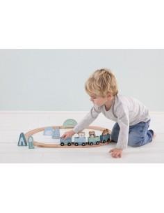 Pociąg z torami Błękitny +3 lata, Little Dutch