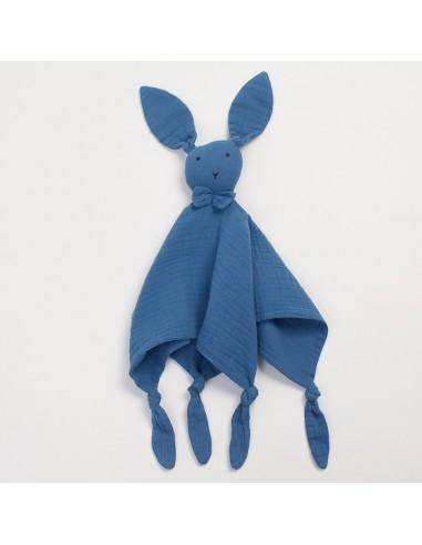 Przytulanka króliczek Huggy granatowy, Bim Bla