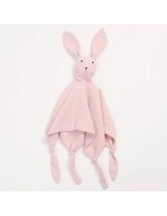Przytulanka króliczek Huggy różowy, Bim Bla