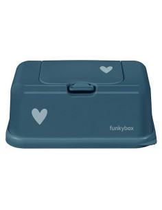 Pojemnik na Chusteczki Petrol Little Heart, Funkybox