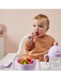Pierwsze sztućce dla niemowląt Gelato Boysenberry, b.box