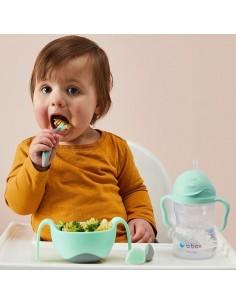 Pierwsze sztućce dla niemowląt Gelato Pistachio, b.box