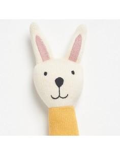 Miękka grzechotka Rabbit, Bim Bla