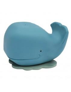 Wieloryb Harald do kąpieli z naturalnego kauczuku niebieski, Hevea