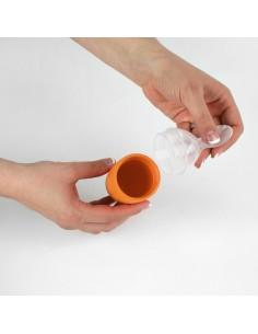 Łyżeczka z zasobnikiem Orange, Boon