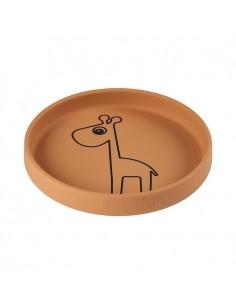 Talerzyk Silikonowy Raffi Mustard, Done by Deer
