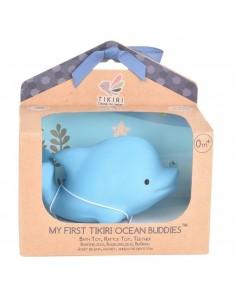 Gryzak zabawka Delfin Ocean w pudełku, Tikiri