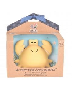 Gryzak zabawka Krab Ocean w pudełku, Tikiri