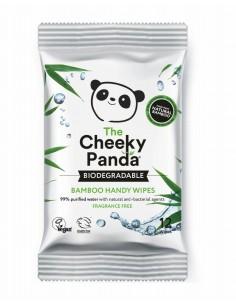 Handy Wipes - naturalnie antybakteryjne nawilżane chusteczki z bambusa 12szt, Cheeky Panda