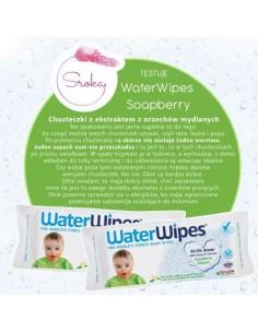 Chusteczki nasączane czystą wodą Soapberry z dodatkiem wyciągu z orzechów mydlanych 60szt., WaterWipes