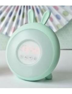Lampka budząca światłem zielony królik, Rabbit and Friends