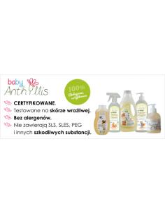 Mydełko Bio Eco w płynie dla niemowląt i dzieci 300 ml, Baby Anthyllis