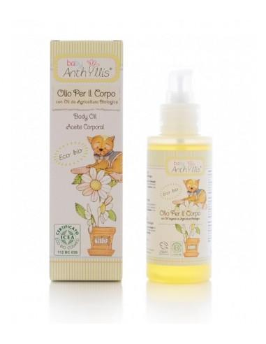 Oliwka do ciała z olejem z rolnictwa ekologicznego 100 ml, Baby Anthyllis
