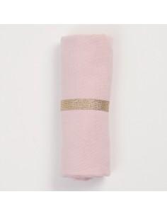 Pieluszka muślinowa różowa, Bim Bla