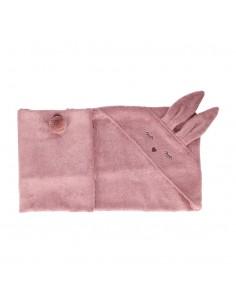 Ręcznik Bambusowy Króliczek Wrzosowy 80x80cm, Samiboo