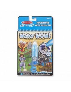 Kolorowanka wodna Water Wow! Przygody +3 lata, Melissa and Doug