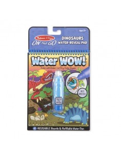 Kolorowanka wodna Water Wow! Dinozaury +3 lata, Melissa and Doug