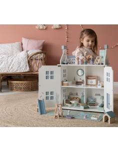 Drewniany domek dla lalek +3 lata, Little Dutch