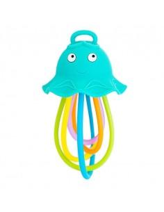 Grzechotka i gryzak meduza +3 m-cy, Baby Banana