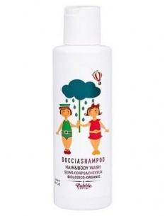 Organiczny Płyn do Mycia Ciała i Włosów dla Dzieci, 100 ml 0m+, Bubble and Co