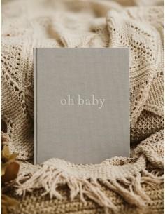 Pamiętnik dziecka oh baby Classic Grey, Mommy Planner