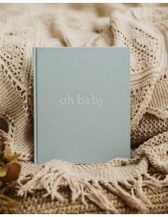 Pamiętnik dziecka oh baby Baby Blue, Mommy Planner