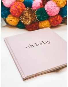 Pamiętnik dziecka oh baby Powder Pink, Mommy Planner