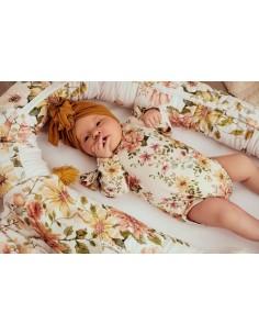 Body niemowlęce z falbanką Vintage Bloom 56/62, Samiboo
