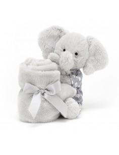 Kocyk przytulanka ze słonikiem w piżamce, Jellycat