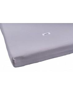 Prześcieradło washed cotton grey 60x120, Malomi