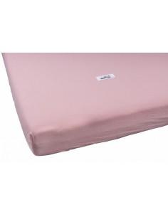 Prześcieradło Washed Pink 70x140, Malomi