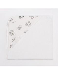 Bambusowy ręcznik niemowlęcy 75x75cm Botanical, Bim Bla