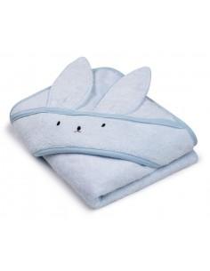 Bambusowy ręcznik baby blue 85x85 cm, Memi