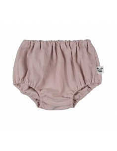 Gatki Bloomersy S Washed Cotton Dusty Pink, Malomi