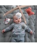 Karuzela do łóżeczka drewno Ocean Mięta +0, Little Dutch