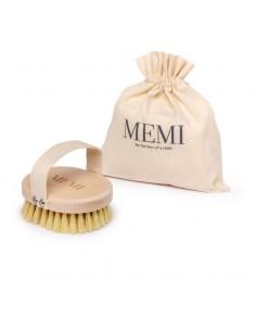 Szczotka tampico do masażu ciała na sucho, Memi