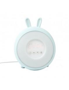 Lampka budząca światłem niebieski królik, Rabbit and Friends