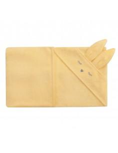 Ręcznik Bambusowy Króliczek Bananowy 80x80cm, Samiboo