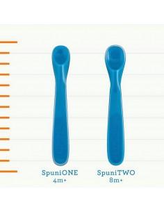 Łyżeczki do karmienia +4 m-ce Oops! Orange / Bouncing Blue