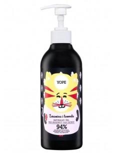 Żel pod prysznic dla dzieci Żurawina i Lawenda 400 ml, YOPE