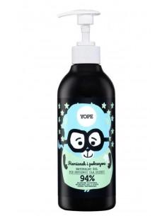 Żel pod prysznic dla dzieci Rumianek i Pokrzywa 400 ml, YOPE