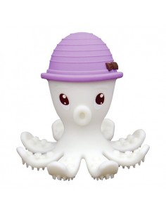 Gryzak Zabawka Ośmiornica Lilac +3 m-ce, Mombella