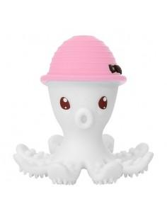 Gryzak Zabawka Ośmiornica Pink +3 m-ce, Mombella
