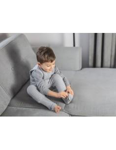 Dwustronny Śpiworek z Nóżkami Melanżowa Mięta (1-2 lata), Sleepee